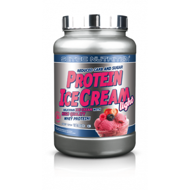Protein Ice Cream Light Fruits des Bois Scitec Nutrition 1250g