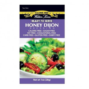Walden Farms Honey Dijon Dressing 6 saquetas de 28 g
