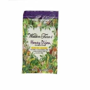 Walden Farms Honey Dijon Dressing single pack of 28 g