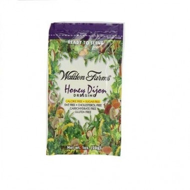 Walden Farms Honey Dijon Dressing single pack of 28 g