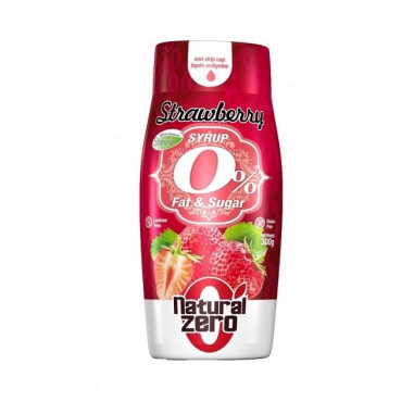 Strawberry Syrup Natural Zero 320g