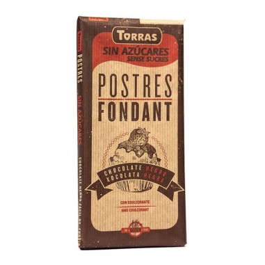 Baking Chocolate Sugar Free Torras 200 g