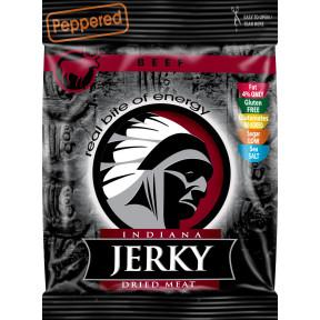 Peppered Beef Jerky Viande Séchée Indiana Jerky 25 g