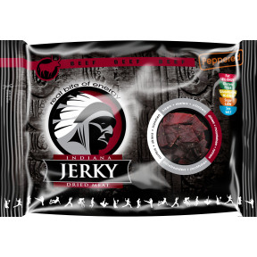 Peppered Beef Jerky Carne Curada Indiana Jerky 100 g