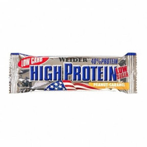40% Low Carb High Protein Bar Weider Peanut-Caramel Flavour 50 g