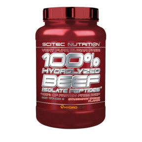 100% Hydrolyzed Beef Scitec Nutrition Délice Vanille 900g