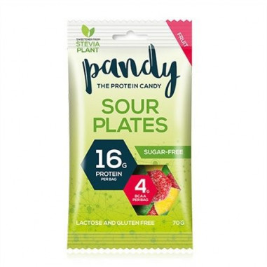 Pandy Sour Plates Protein Candy 70g