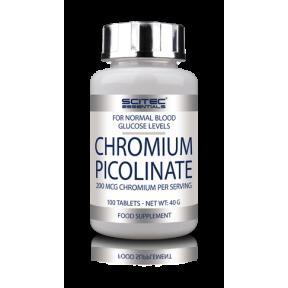 Picolinate de chrome de Scitec Nutrition 100 comprimés