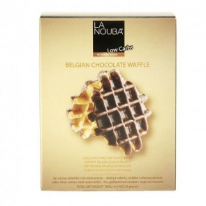 Gofres con chocolate belga low carb LaNouba 180 g