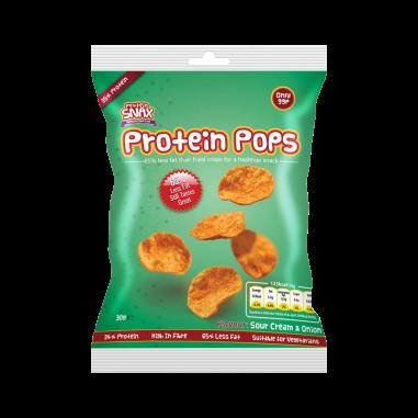 Protein Pops Crema de leite e cebola 30g