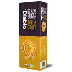 :Diablo no added sugar butter cookies 135g