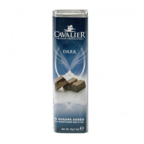 Barra de chocolate preto Cavalier 44 g