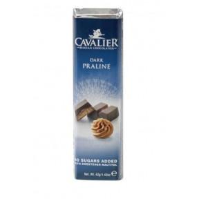Cavalier Dark chocolate with Praline Bar 42 g