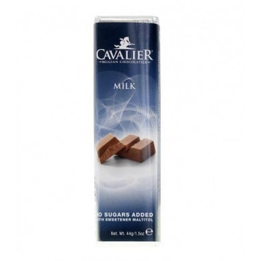 Barra de chocolate de leite Cavalier 44 g