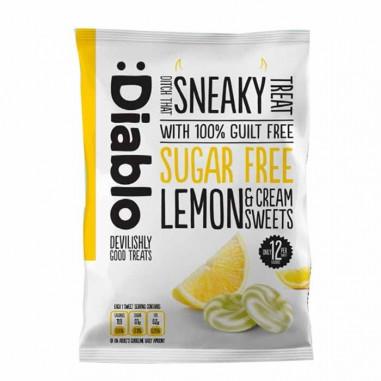 Lemon & cream sweets sugar free :Diablo 75 g