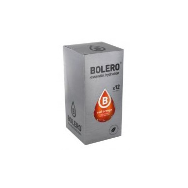 Pack de 12 Sobres Bolero Drinks Sabor Naranja Sanguina