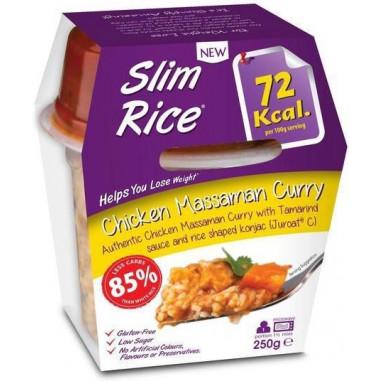 Slim Pasta Riz et Poulet au curry Massaman 250 g