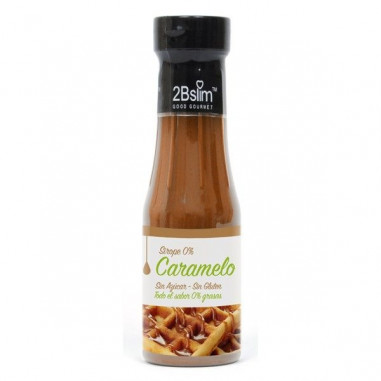 Sirope de Caramelo 0% 2bSlim 250 ml