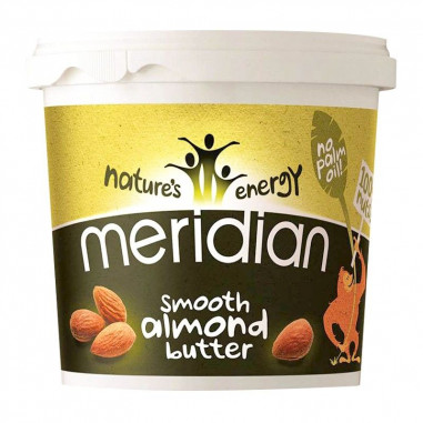 Natural Almond Butter Smooth Meridian 170 g