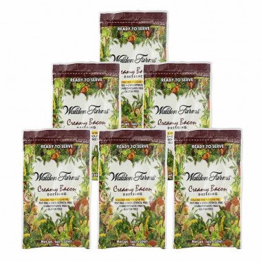 Walden Farms Creamy Bacon Dressing single pack of 28 g