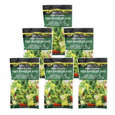 Walden Farms Thousand Island Dressing single pack of 28 g