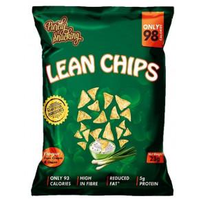 Lean Chips (Nachos Proteinados) Crema Agria y Cebolla 23 g Purely Snacking