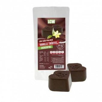 Bombones low-carb de chocolate con trufa de vainilla 90 g LCW