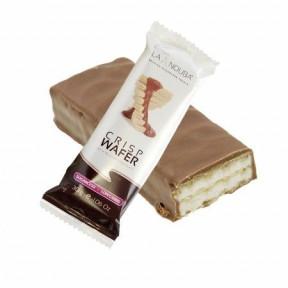 Barquillo LowCarb LaNouba crocante com chocolate belga 30 g