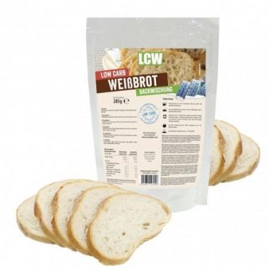 Préparation pour pain blanc faible en glucides 285 g LCW