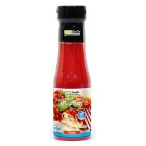 Salsa Tomate y Albahaca 0% grasas Smart Foods 350 ml