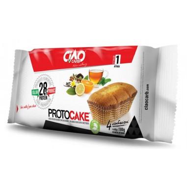 Plum Cake CiaoCarb Protocake Etapa 1 Baunilha Limão