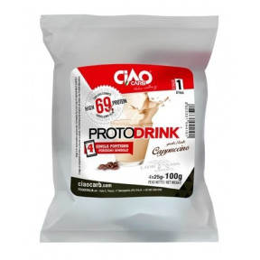 Protodrink Capuccino CiaoCarb Phase 1 100 g 4 unités