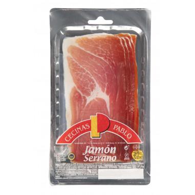 Jamón Serrano Loncheado 100 g Cecinas Pablo