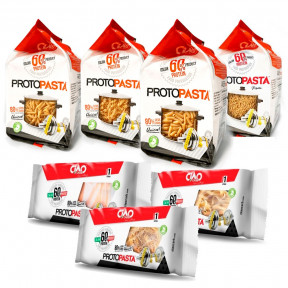 Pack Variado de Pasta Fase 1 CiaoCarb 7 unidades