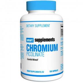 Picolinato de Cromo Smart Supplements 100 cápsulas