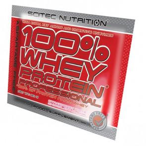 100% Whey Professional Scitec Nutrition Yaourt Cerise unidose 30 g