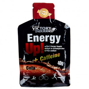 Energy Up! + Cafeína Gel 40g Victory Endurance Cola