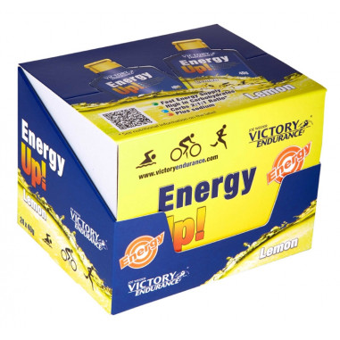 Energy Up! 24 x 40g Gel Victory Endurance Lemon Pack