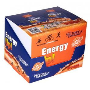 Pack 24 x 40g Energy Up! Gel Victory Endurance laranja