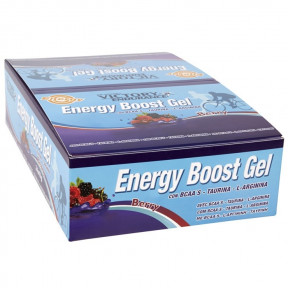 Energy Boost Gel Berries 24 x 42g pack Victory Endurance