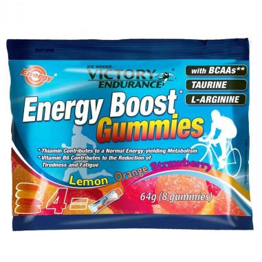 Energy Boost Gummies 64g Victory Endurance Lemon Orange Strawberry
