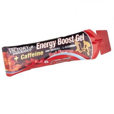 Energy Boost Gel + Caféine Red Energy 42g Victory Endurance