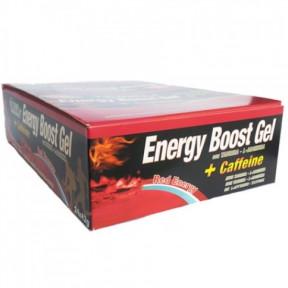 Energy Boost Gel + Caffeine Red Energy 24 x 42g Pack Victory Endurance