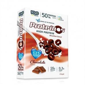 Cereales Proteicos Proteinos Sabor Chocolate 270g de Novo Nutrition