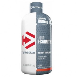 L-Carnitine 1100 Líquida Dymatize Sabor Bayas 473 ml