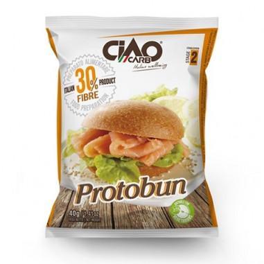 CiaoCarb Plain Protobun Stage 2 Bread Rolls 1 unit 40 g