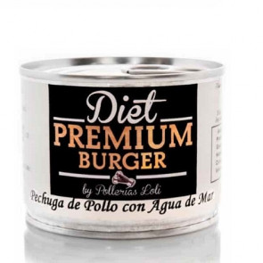 Blanc de poulet à l'Eau de Mer en Conserve 100 g Diet Premium