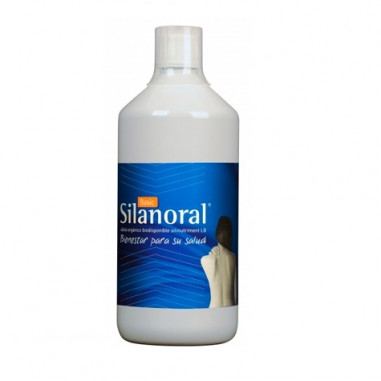 Silanoral Basic Silicio Orgánico Biodisponible 1000 ml