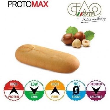 Pack de 10 Biscoitos CiaoCarb Protomax Etapa 1 Avelã
