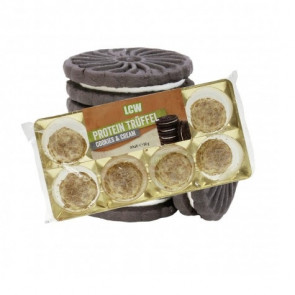Trufas de Proteína sabor Cookies & Cream LCW 80 g